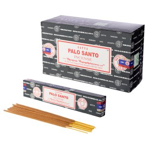 HEAL-NAG-SPS15 Satya Incense Sticks - Palo Santo - 12 Boxes