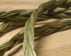 HERB-51 Sweetgrass Braid 16 - 18""
